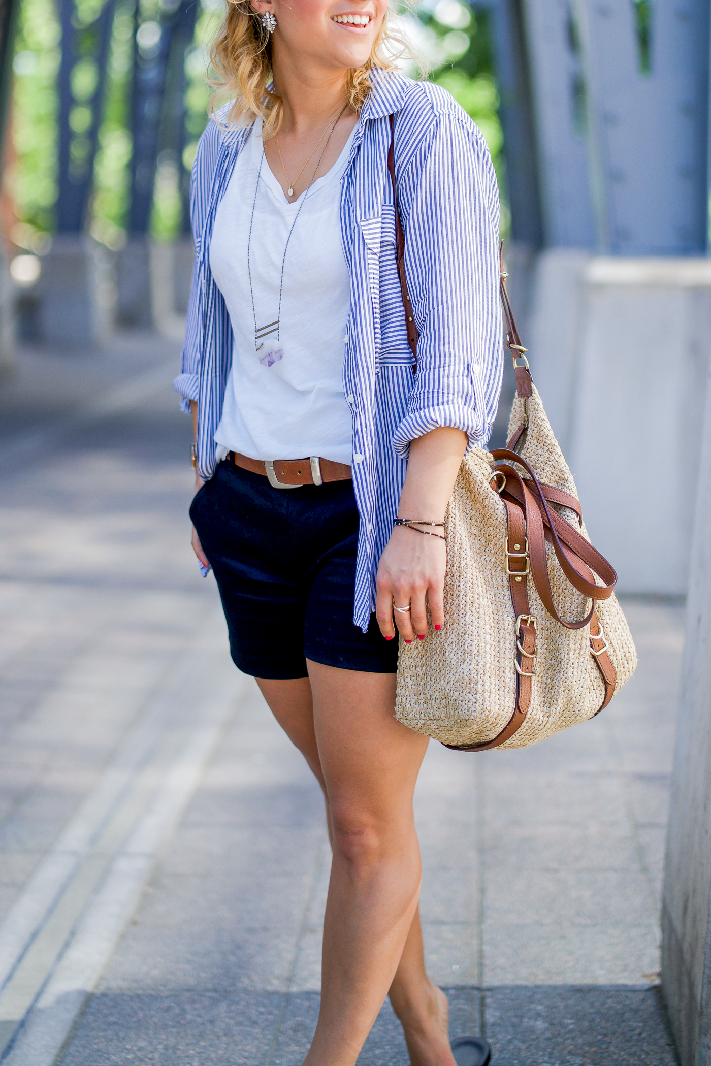 Summer outfit inspiration from Canadian lifestyle and fashion blogger Jackie at Something About That