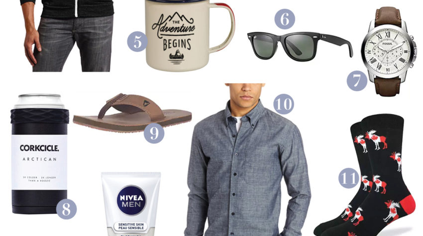 Canadian lifestyle and fashion blogger is sharing a Father's Day Gift Guide, with some of the best picks from Amazon.ca