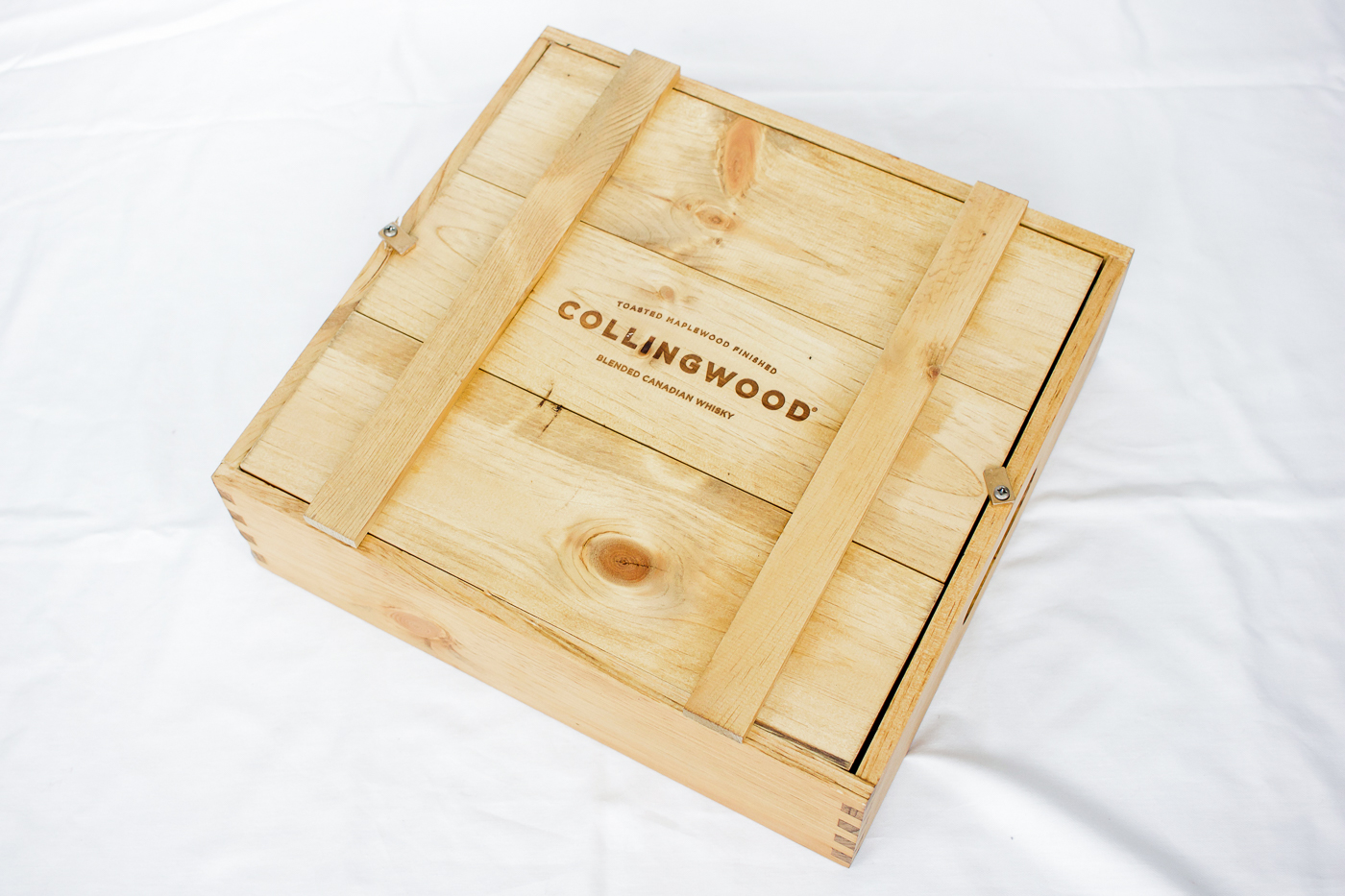PR package from Collingwood Whiskey