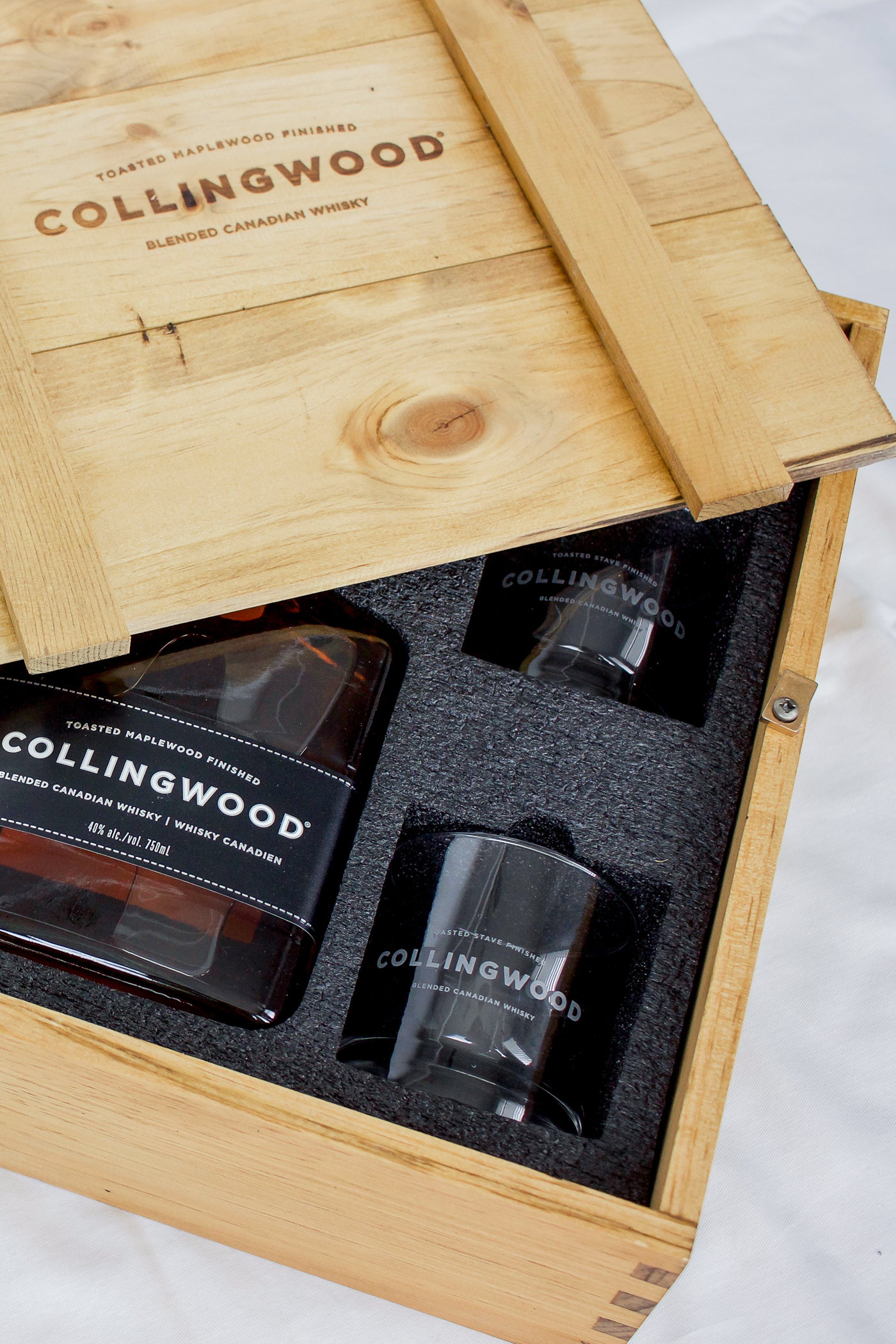 Cocktail recipe made with Collingwood Whiskey