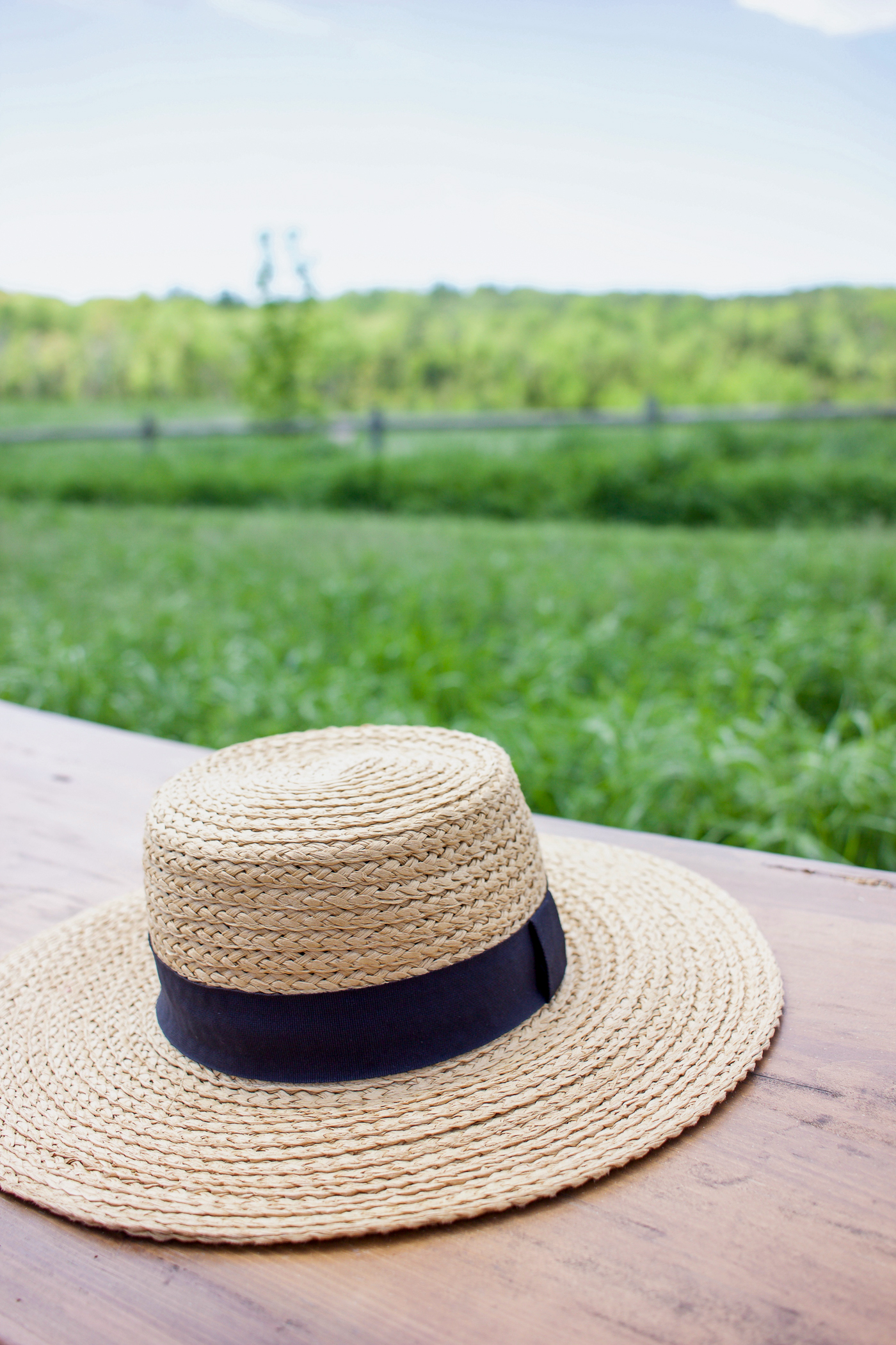 Straw hat from H&M