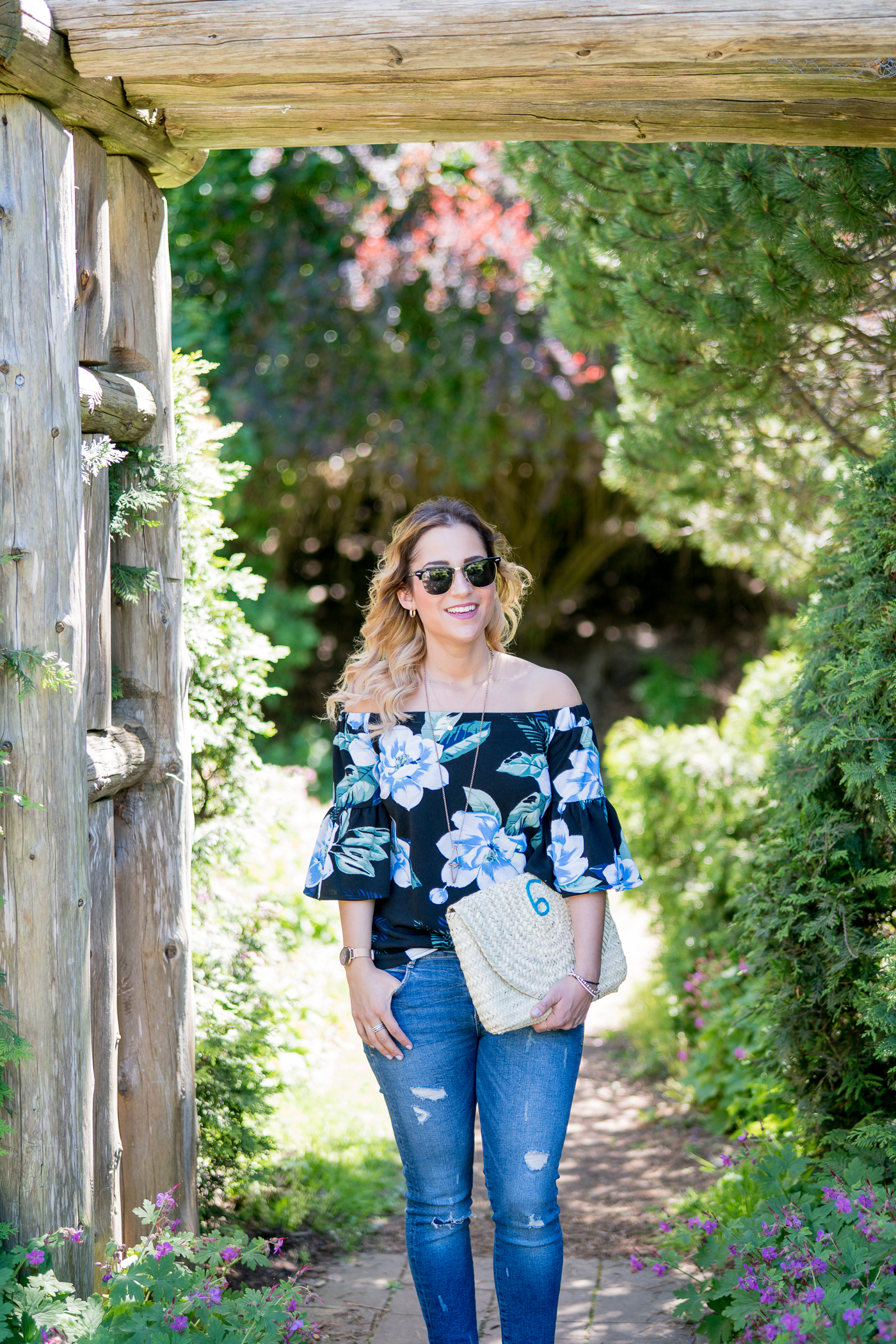 summer outfit idea, from Jackie Goldhar - the lifestyle and fashion blogger behind Something About That