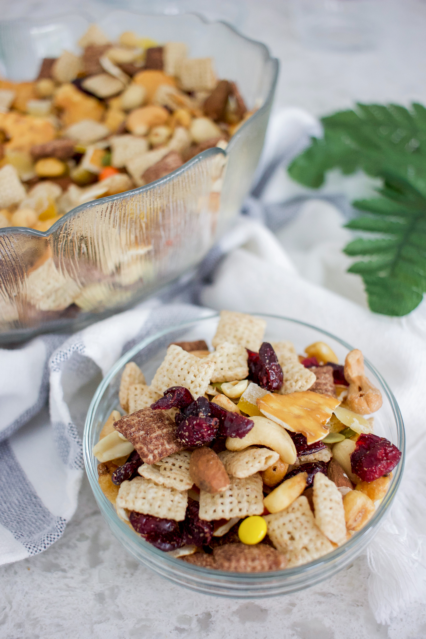 Easy camping snack to make yourself is trail mix