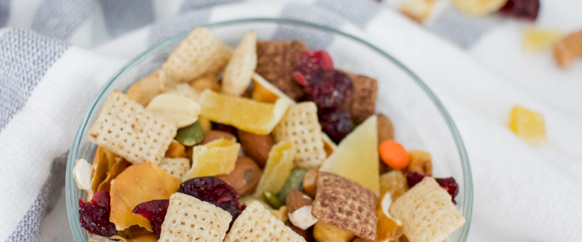 """""""Everything But The Kitchen Sink"""" Simple Trail Mix Recipe"""