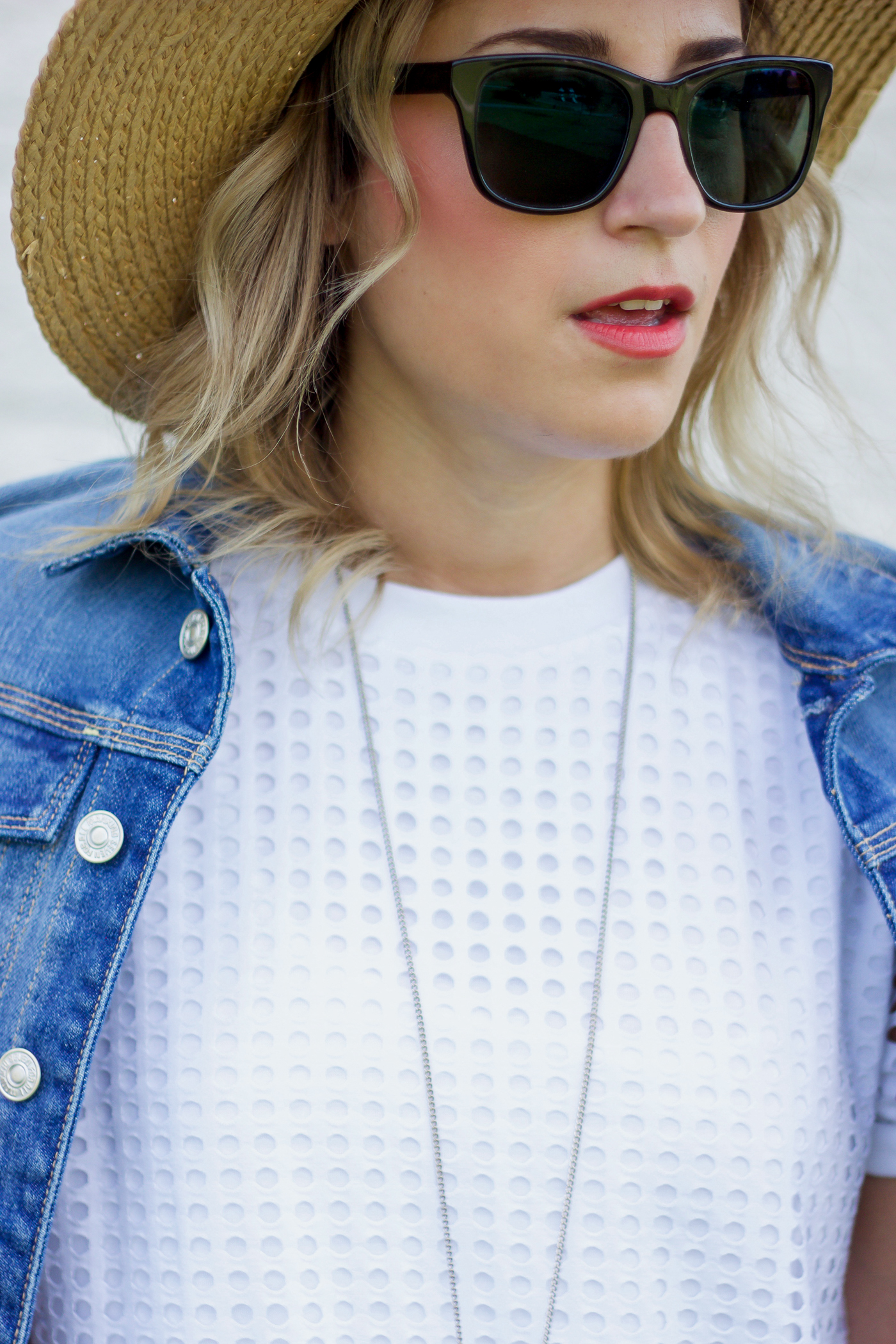 Summer outfit and accessories, as seen on Canadian lifestyle and fashion blogger, Jackie Goldhar of Something About That