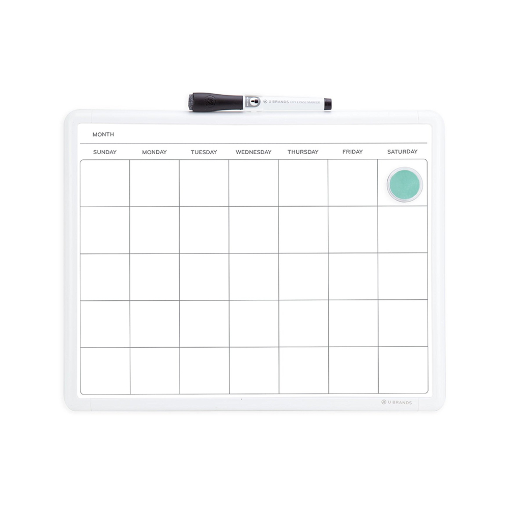 Back to school inspired must haves from Amazon, like a dry erase calendar