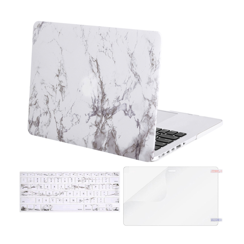 "Chic and trendy marble print laptop case for macbook pro 13"" from Amazon"