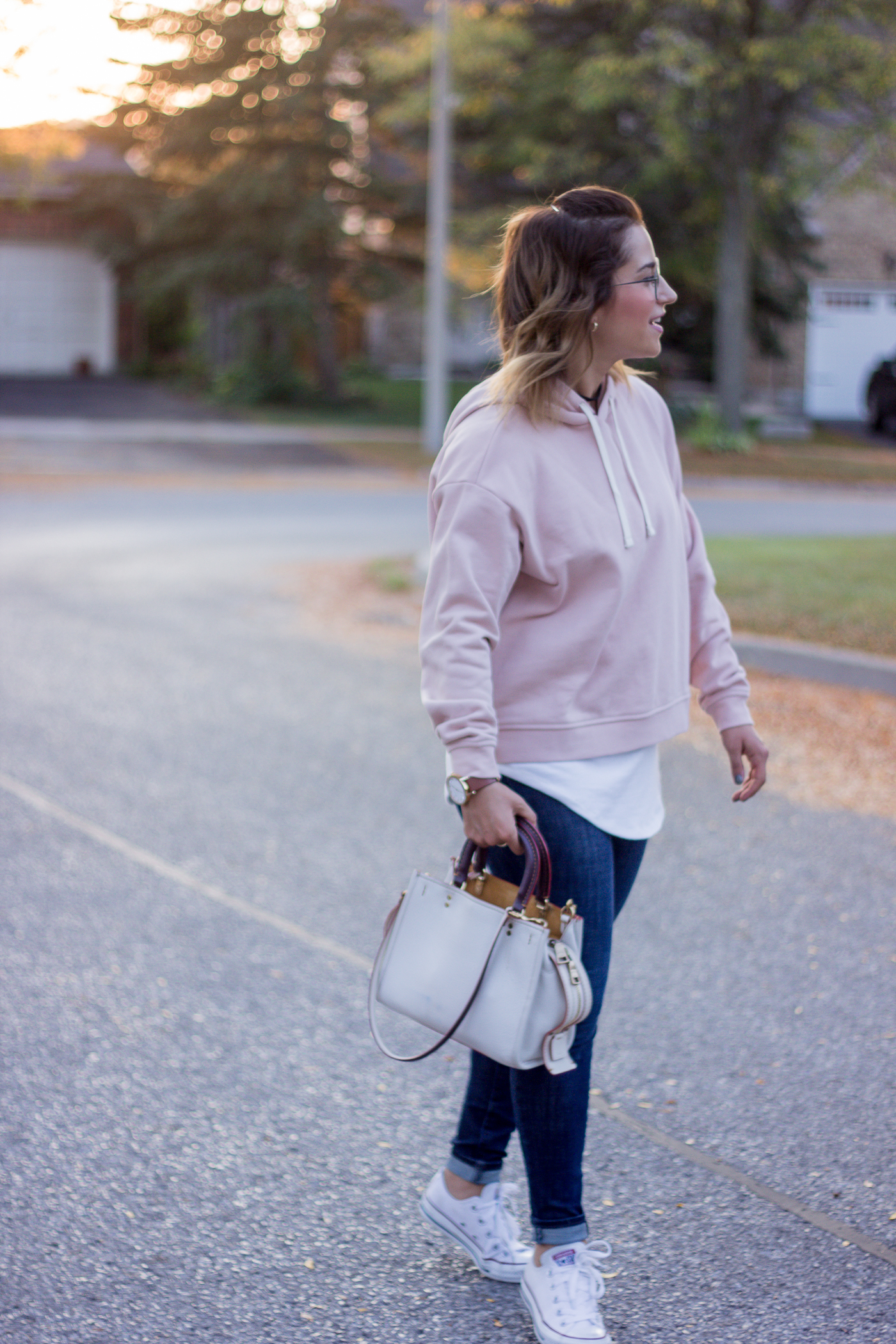Canadian fashion blogger shares her favourite fall hoodies for adults