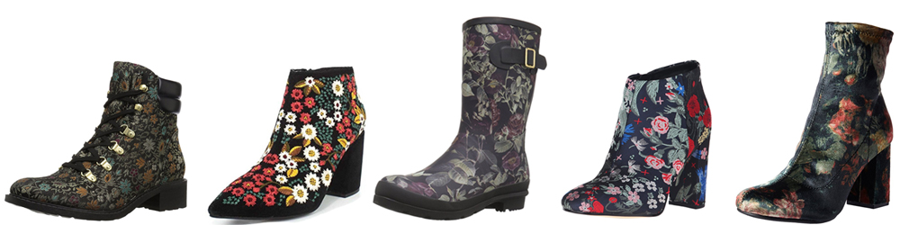 Best floral boots on Amazon