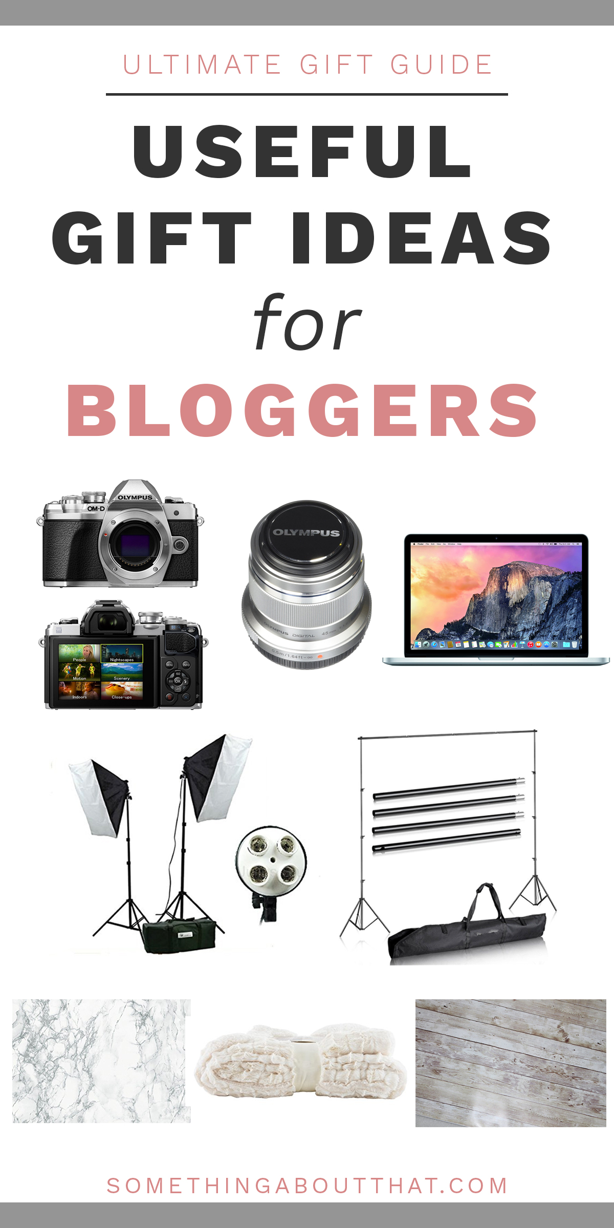 Useful gift ideas for bloggers that you can buy on Amazon