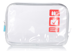 Clear liquids bag that works for airport security