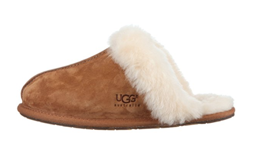 UGG Slippers in Chestnut from Amazon