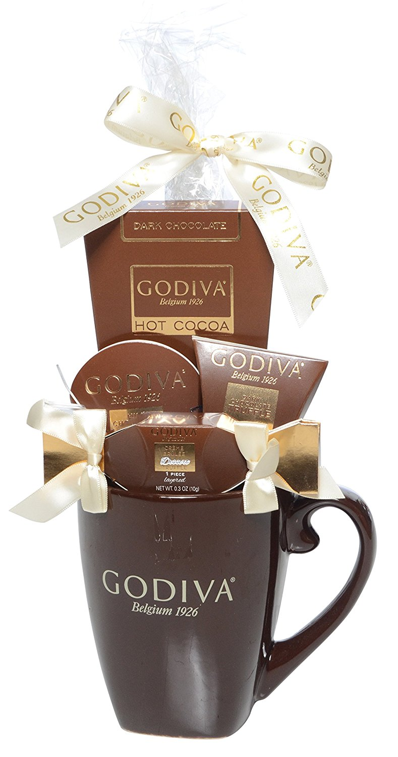 Godiva chocolate and mug gift set from Amazon
