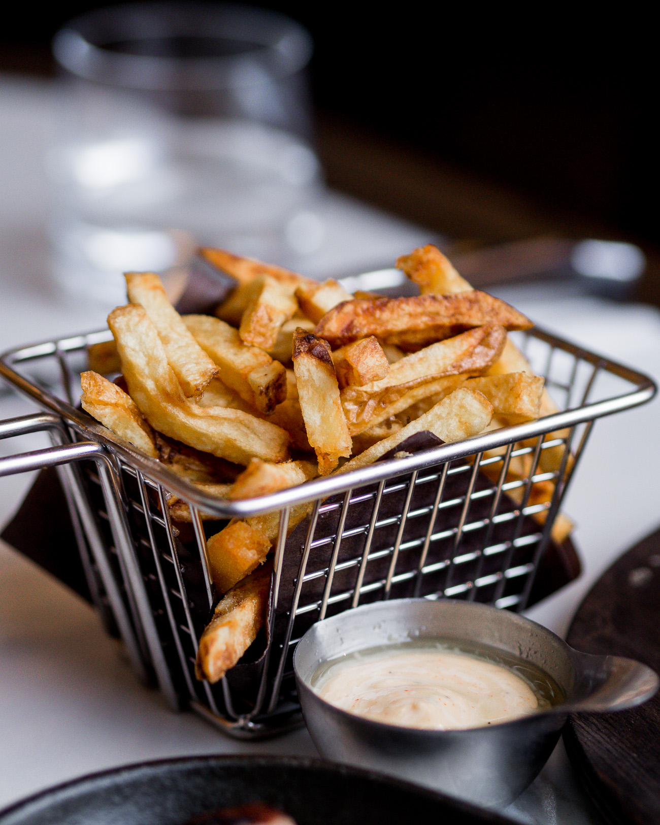 Duck Fat fries from the new Toronto restaurant on Dundas West
