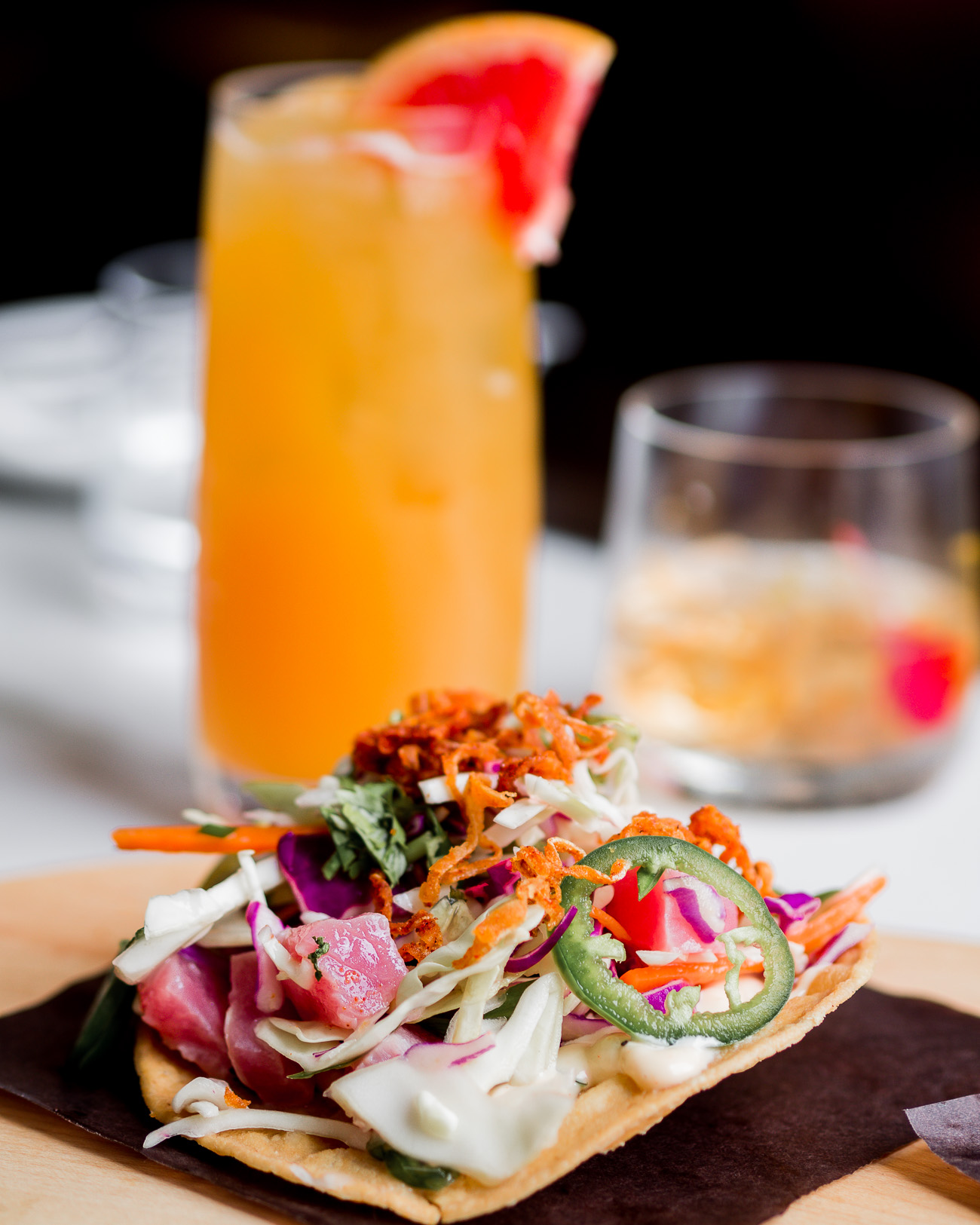 Drinks and apps at The Commoner Restaurant