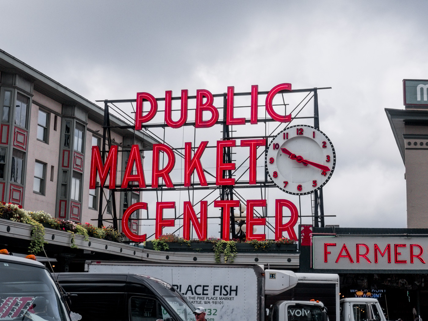 A weekend guide to Seattle - exploring the Pike Place Market