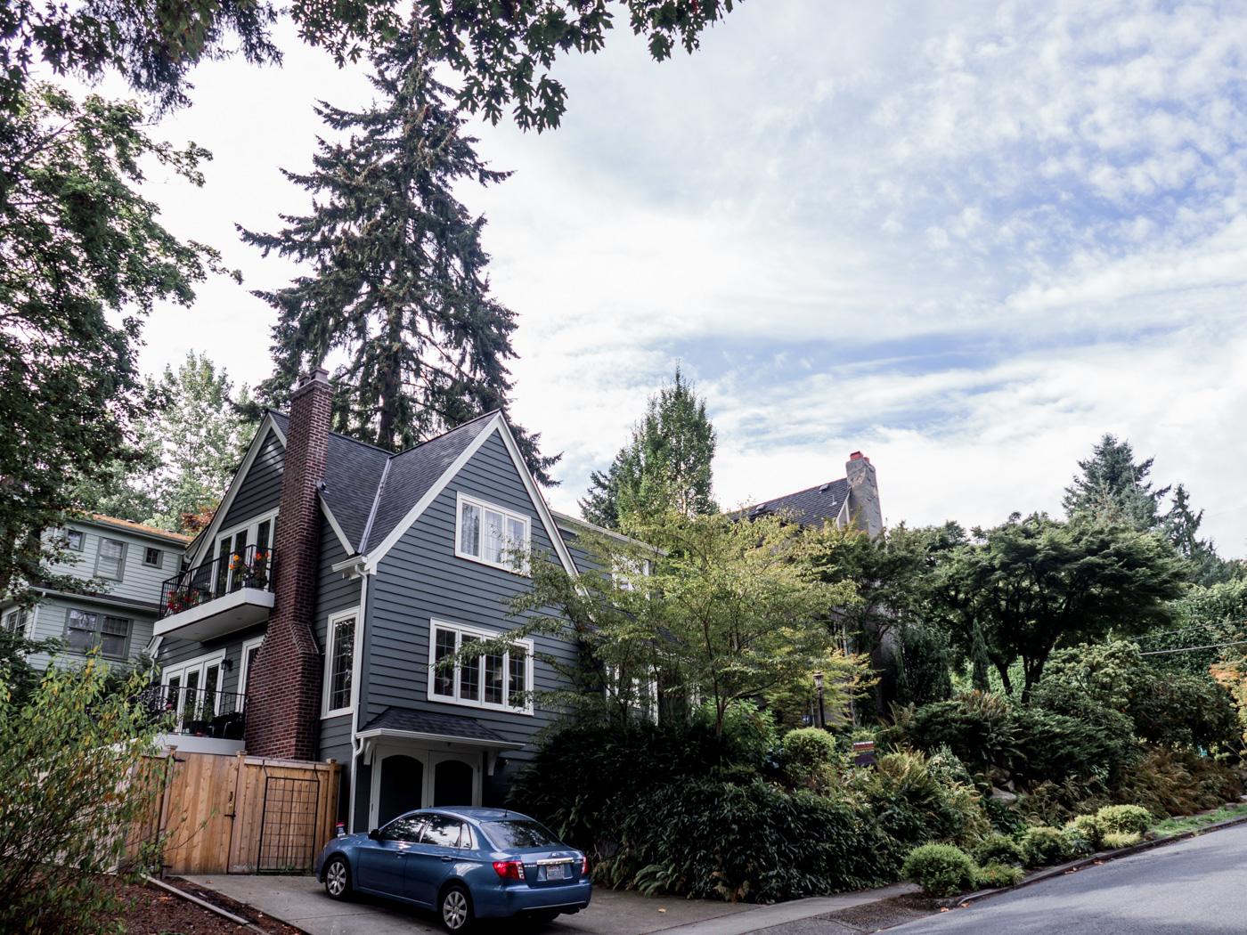 beautiful homes in the Washington Park area of Seattle